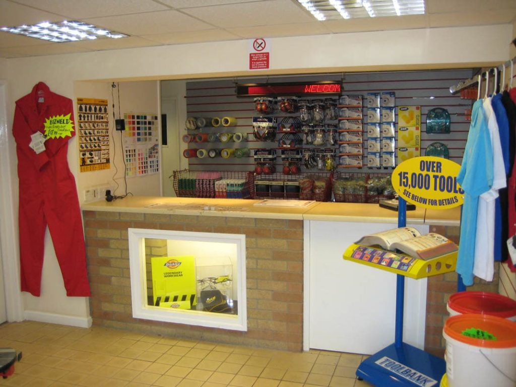 miter industrial supplies trade counter